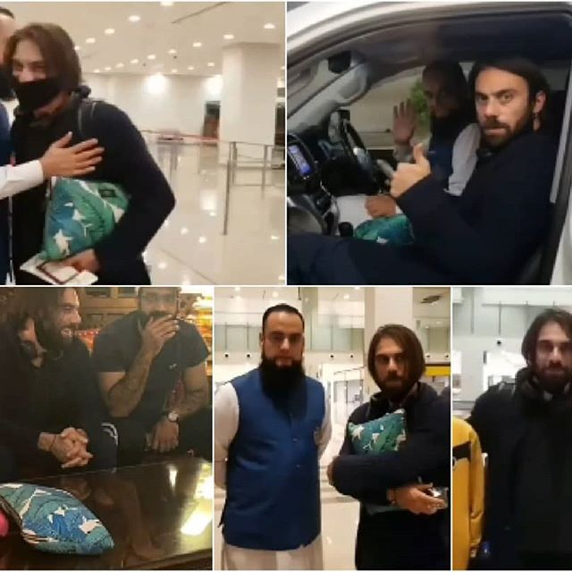 Pictures From Cavit Cetin's Tour To Pakistan
