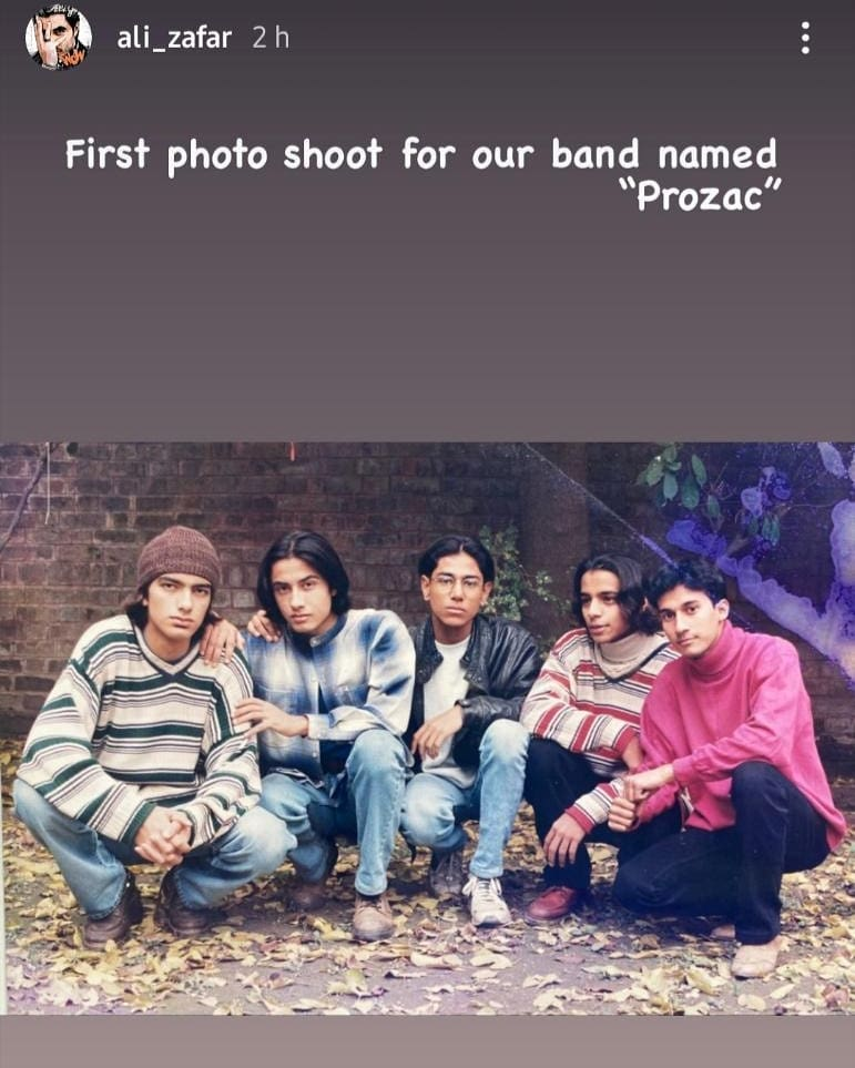 Ali Zafar Went Down His Memory Lane And Shared Pictures From His Past