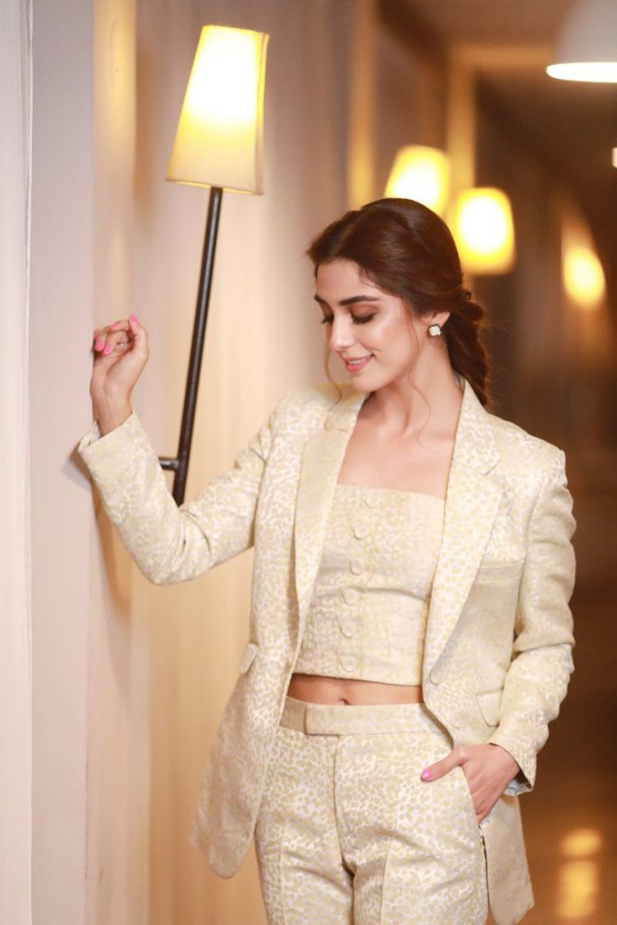 Professional Pictures of Maya Ali Wearing Coat Pant - Cool Photos