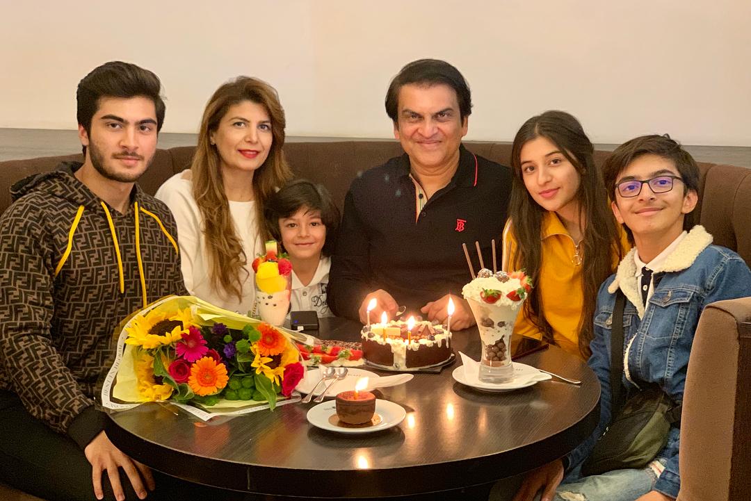 Famous Drama Producer Abdullah Kadwani with his Family