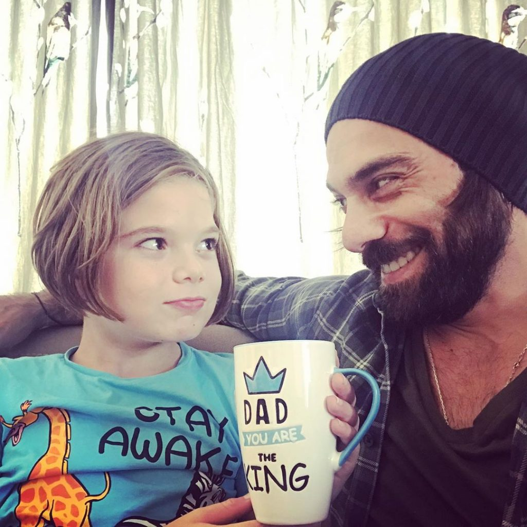 Adorable Pictures Of Cavit Cetin With His Son