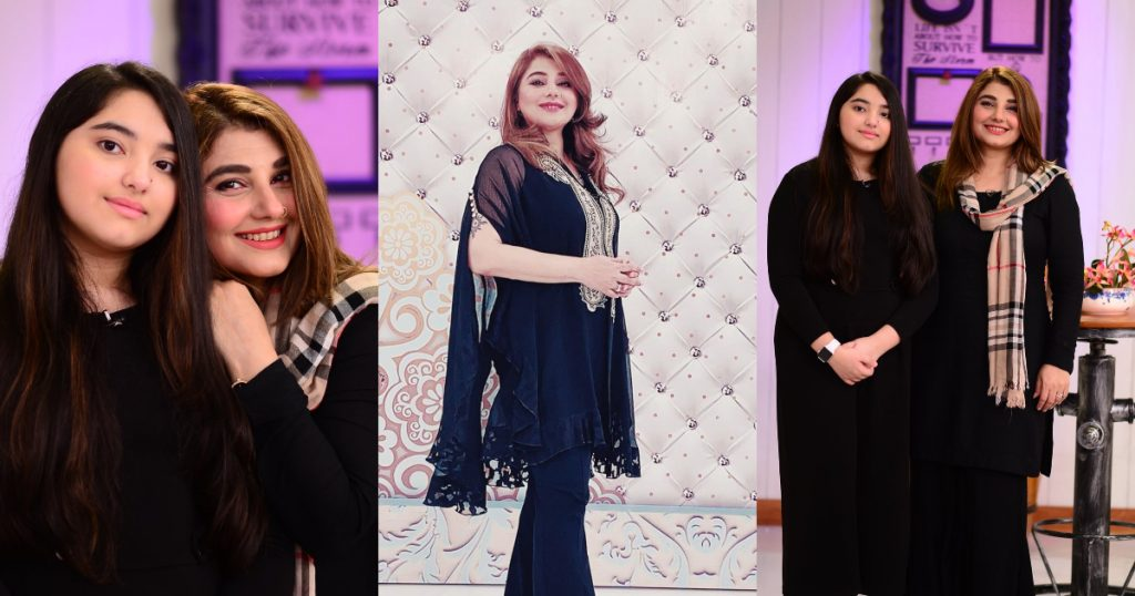 Adorable Pictures Of Javeria Saud With Her Daughter