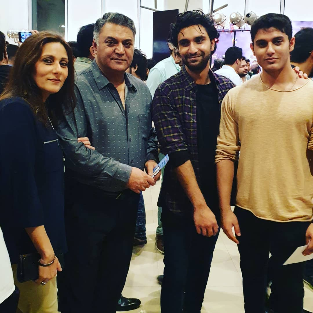 Ahad Raza Mir's Beautiful Latest Pictures With Family