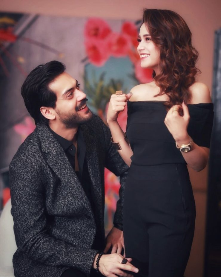Aima Baig And Shahbaz Shigri Playing Some Fun Games Together