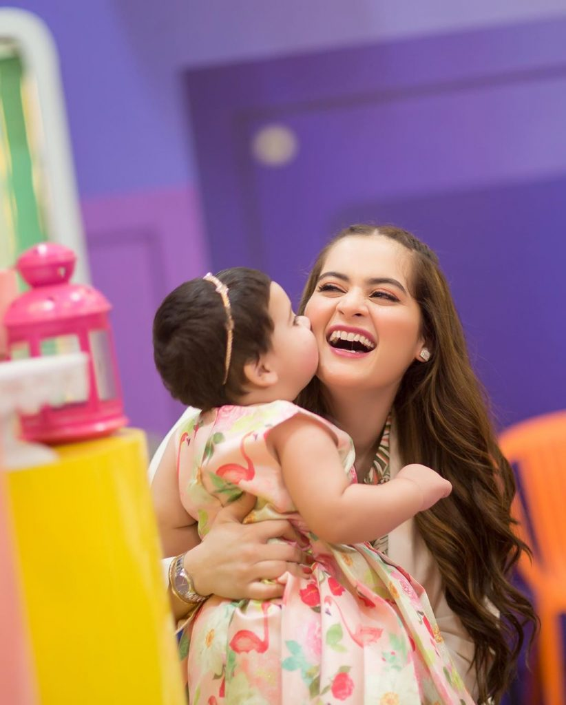 Aiman Khan Gives Shut Up Call To Haters Criticizing Amal's Birthday Party
