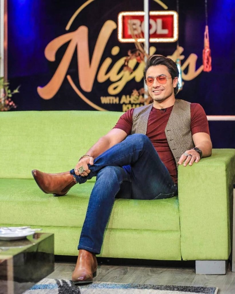 Ali Zafar's Pictures From The Sets Of Bol Nights With Ahsan Khan