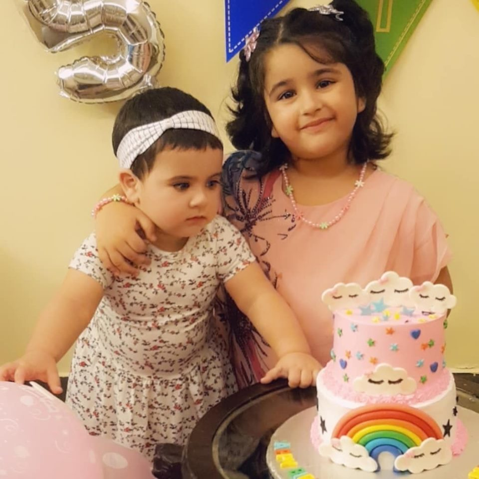 Muneeb Butt Niece Zyna Shahzeb's Birthday Party Pictures with Amal Muneeb