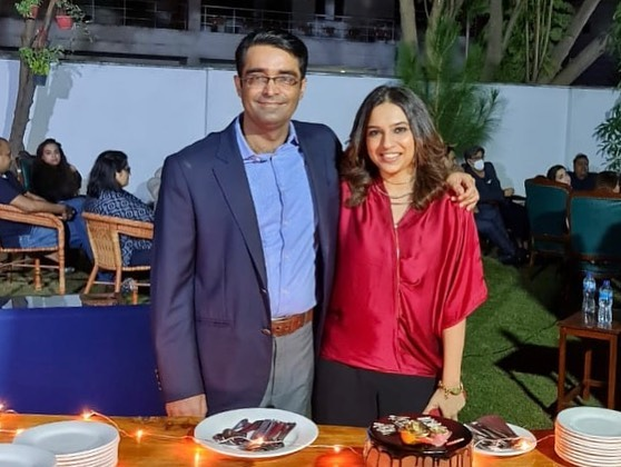 Anchor Maria Memon Celebrated 37th Birthday With Husband
