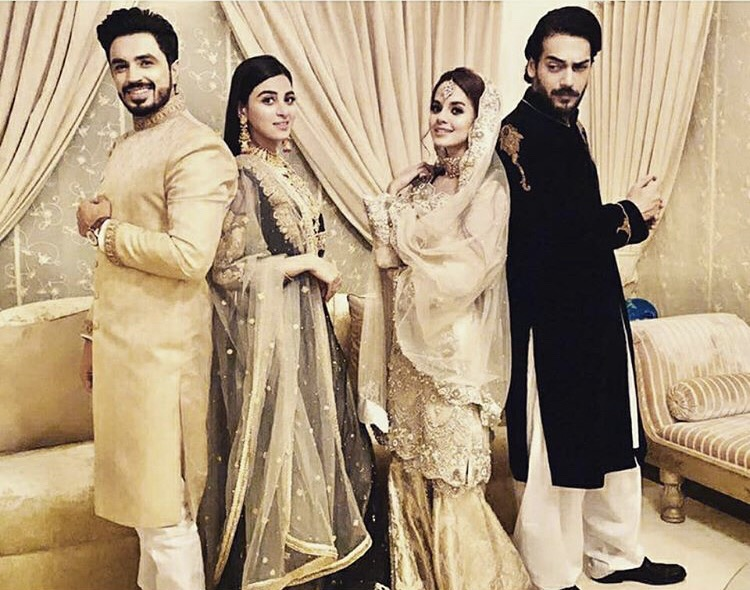 Anmol Baloch Latest Clicks From The Set Of Qurbatain