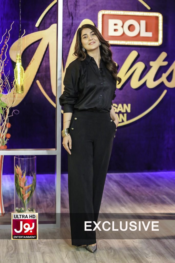 Areeba Habib Talking About Her Wish To Work With Three Popular Stars