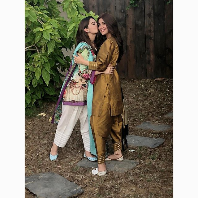 Areeba Habib Talks About Her Bonding With Minal Khan