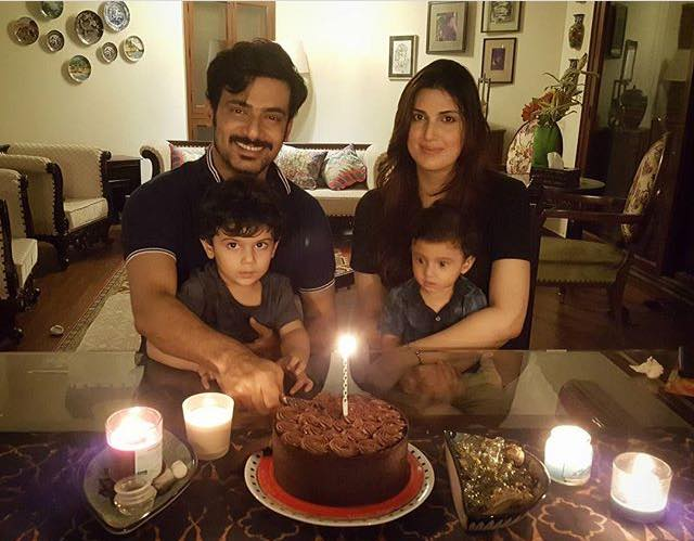 Arts and Entertainment Zahid Ahmed Celebrating His Birthday With His Family 15271