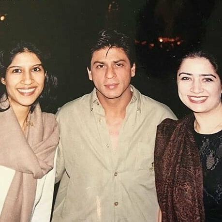 Atiqa Odho Shares Throwback Picture With Shah Rukh Khan