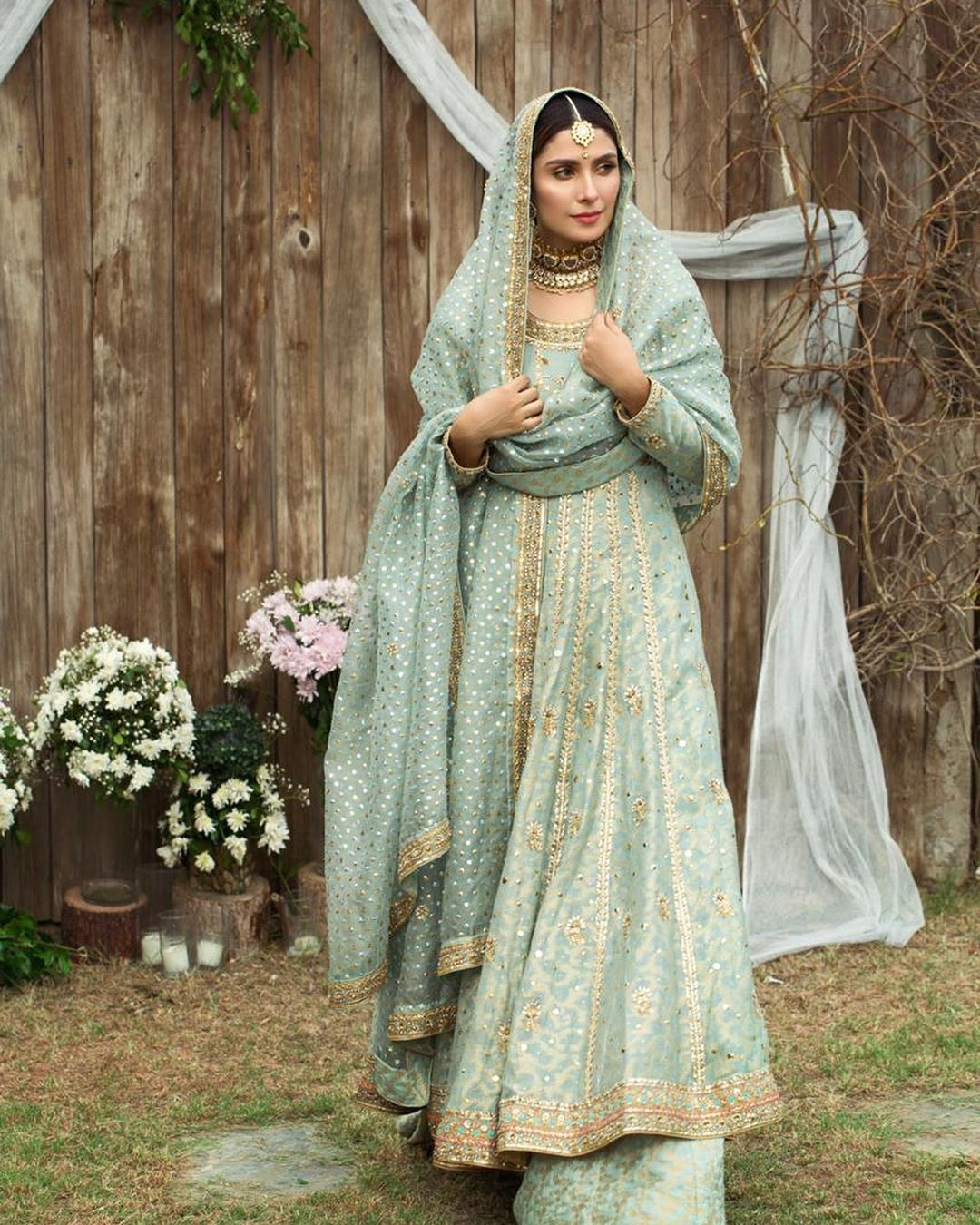 Ayeza Khan Looking Gorgeous in Her Shoot D I A by Ansab Jahangir