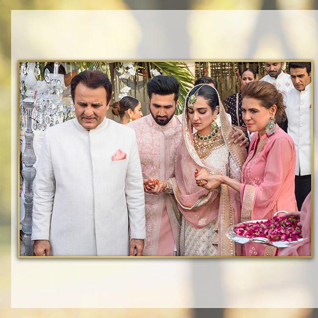 Beautiful Recreated Video From Sarah Khan, Falak Shabir's Intimate Wedding