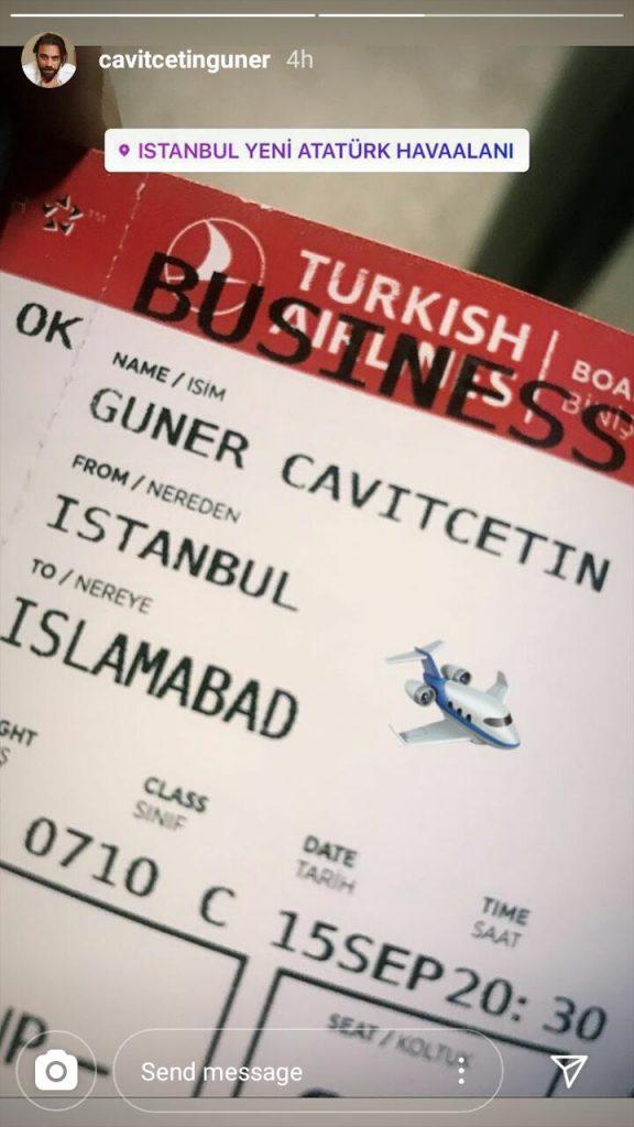 Cavit Cetin Guner Is Coming To Pakistan Finally