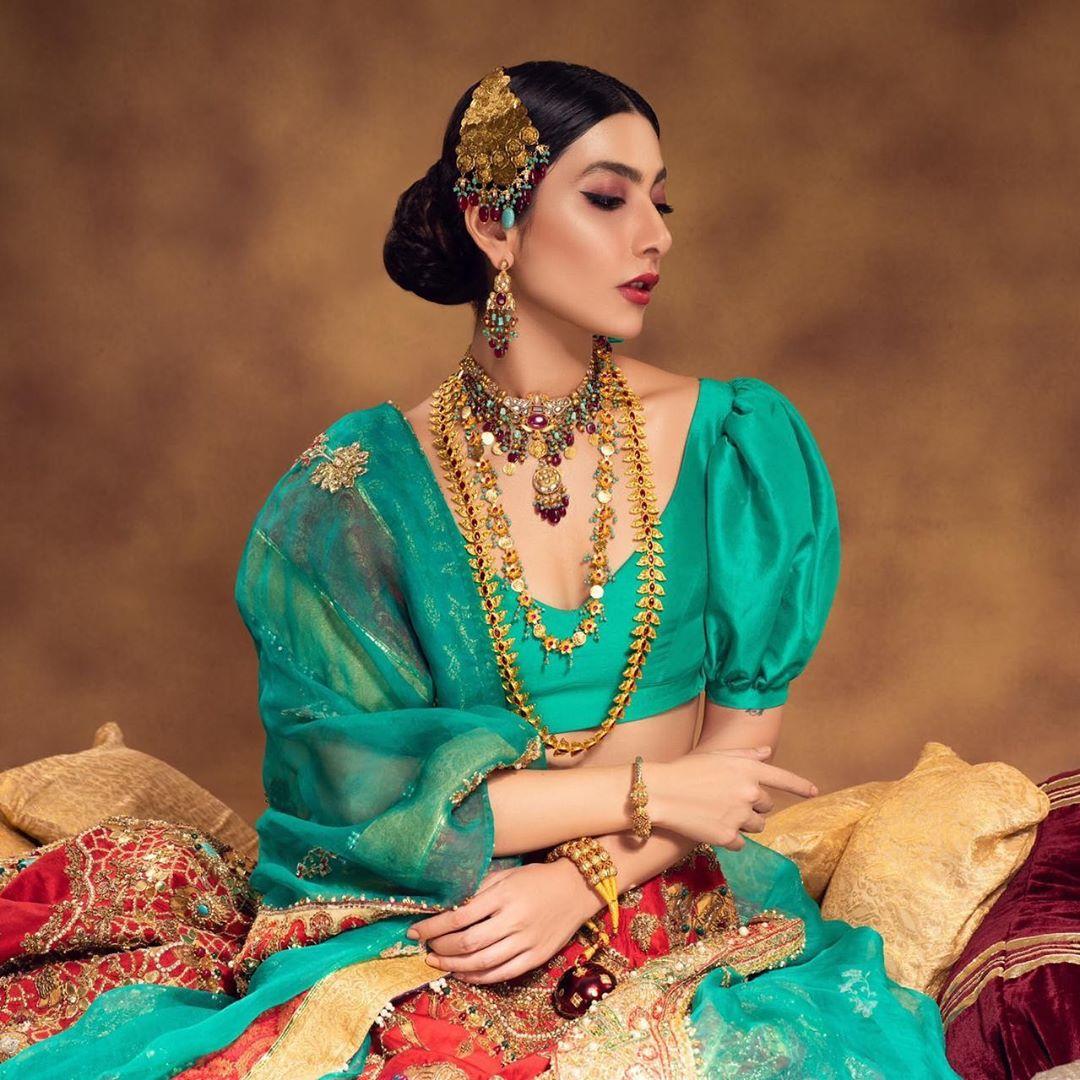 Eman Suleman Latest Beautiful Shoot for Shafaq Habib Jewelry