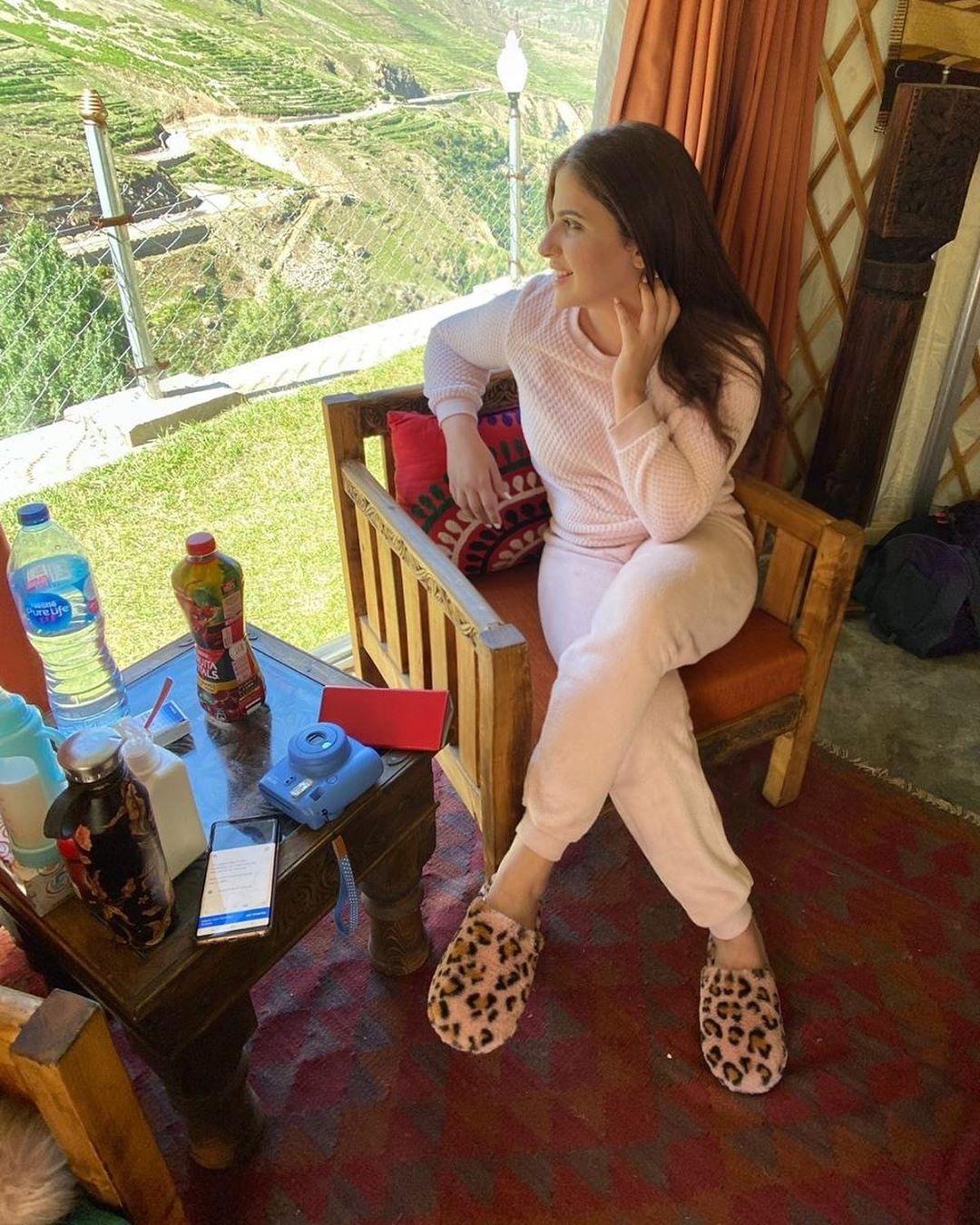 Fashion Designer Faiza Saqlain Family Pictures from Hunza Family