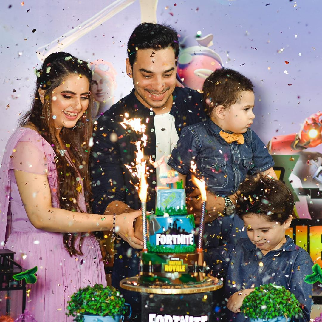 Fatima Effendi and Kanwar Arsalan Sons Almir and Mahbir's Birthday Pictures