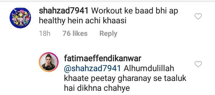 Fatima Effendi Gives Befitting Answer To Body Shamers 14