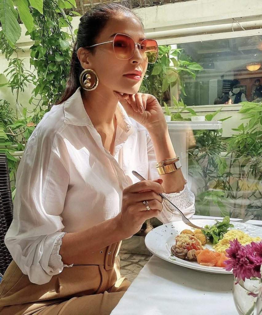 Famous Model Fouzia Aman Celebrating Her Bithhday-Pictures