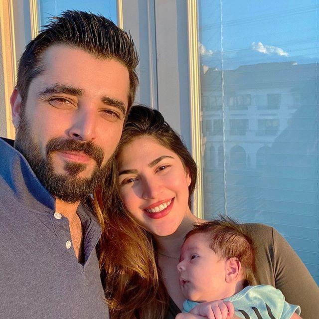 Hamza Ali Abbasi's Sister Shared Cute Video With Nephew