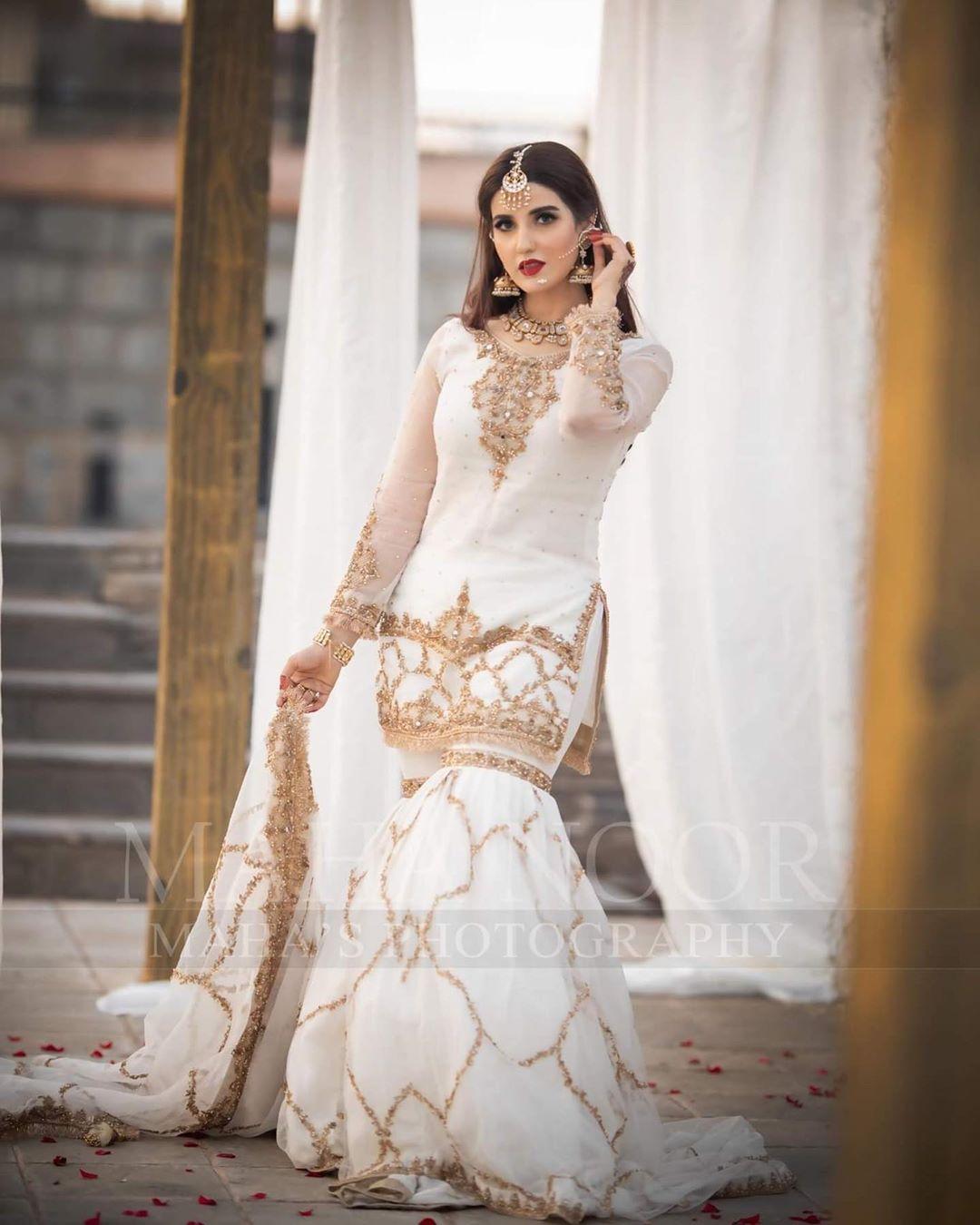 Gorgeous Hareem Farooq Photoshoot for Maha Wajahat Khan