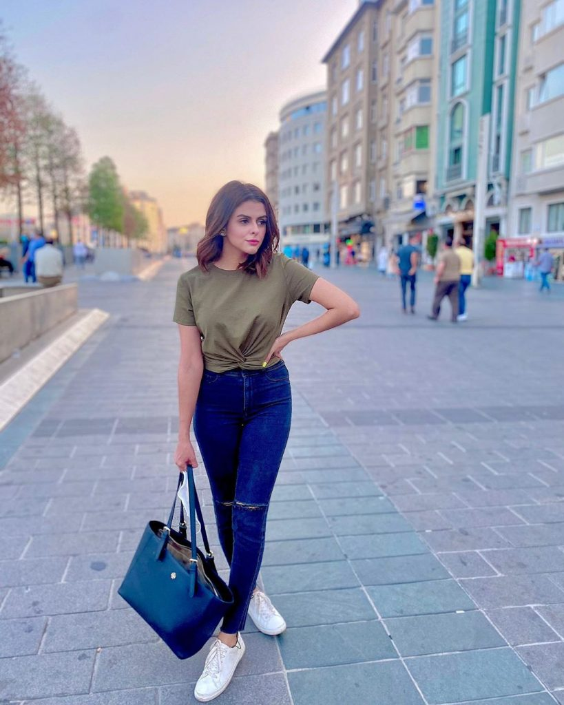 Honeymoon Pictures Of Waliya Najib From Turkey