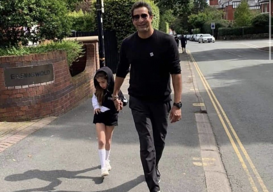 Wasim Akram Gave A Fitting Reply To Hater