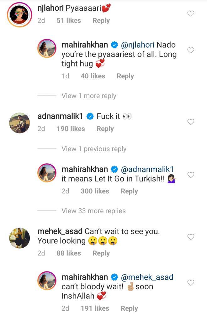 Mahira Khan Post In Turkish Gets Interesting Reactions