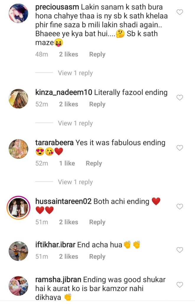 Public Reaction On The Last Episode Of Dil Ruba