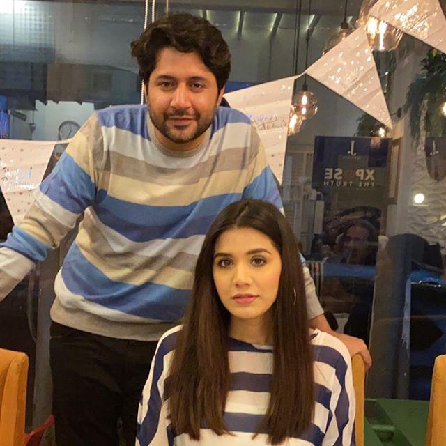 Imran Ashraf's Wife Shared Sweet Birthday Note For Husband