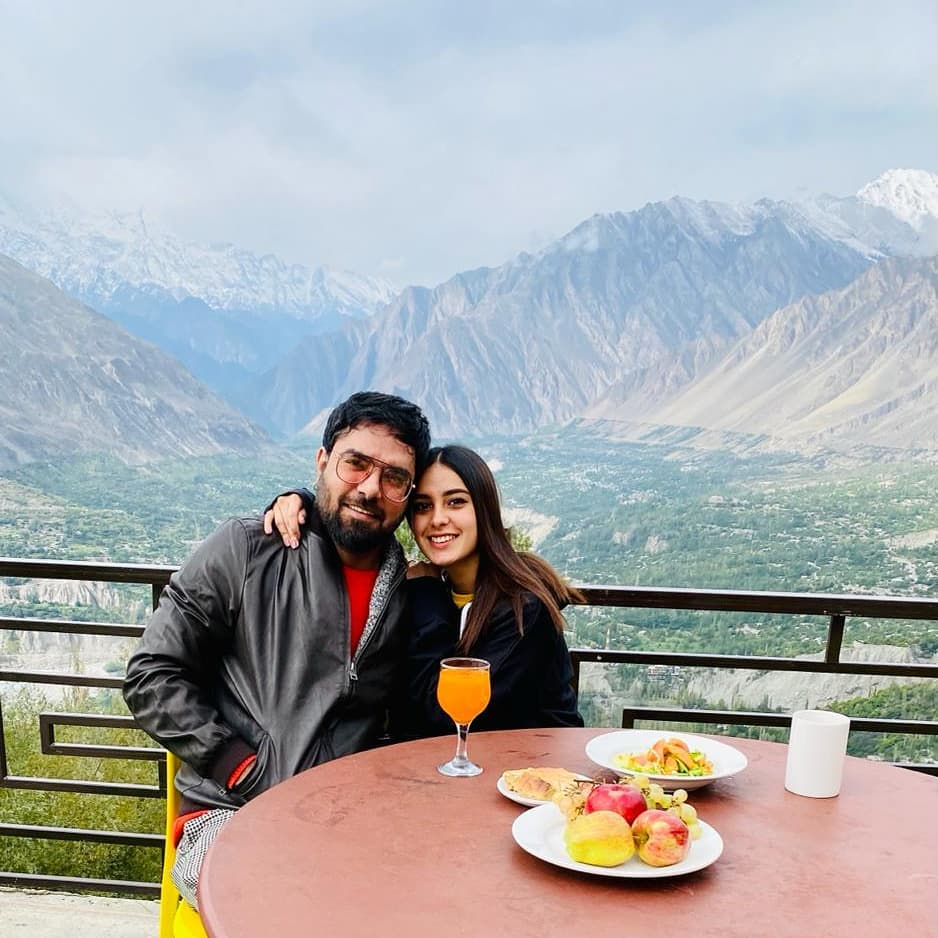 Iqra Aziz, Yasir Hussain's Breathtakingly Beautiful Pictures From Hunza