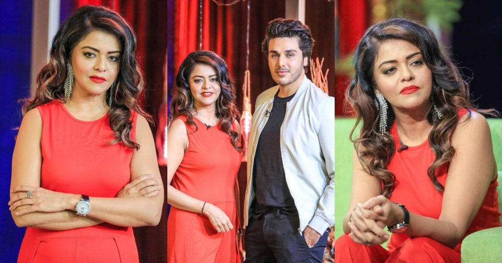 Latest Pictures Of Maria Wasti From Bol Nights With Ahsan Khan