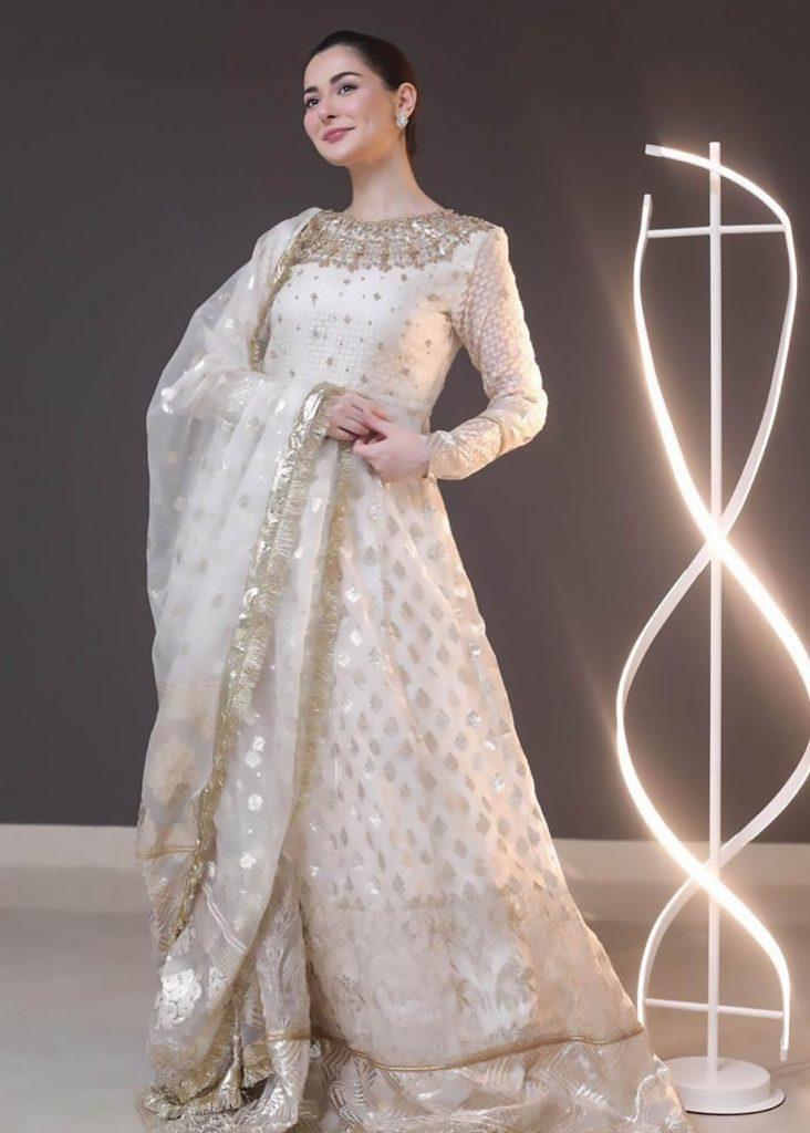 Hania Amir In Latest Shoot For Rang Rasiya