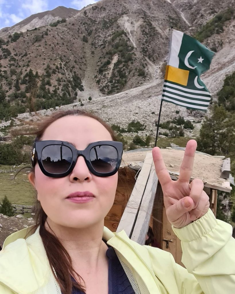Maria B Shared details From Her Trip To Northern Areas 1