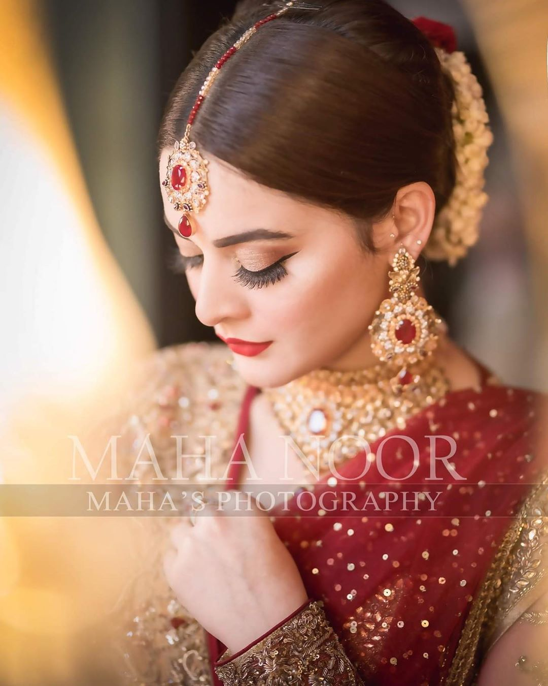 Gorgeous Actress Minal Khan Beautiful Bridal Shoot