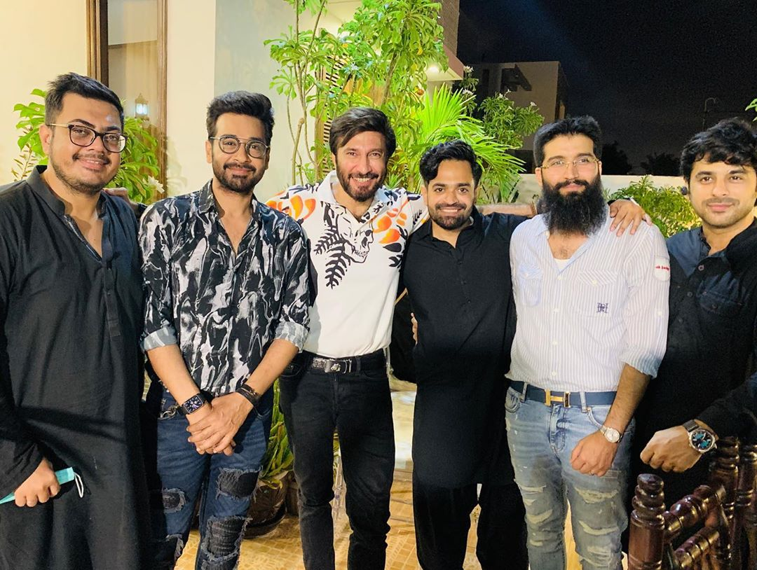 Celebrities Spotted at Niaz Hosted by Actor Naveed Raza
