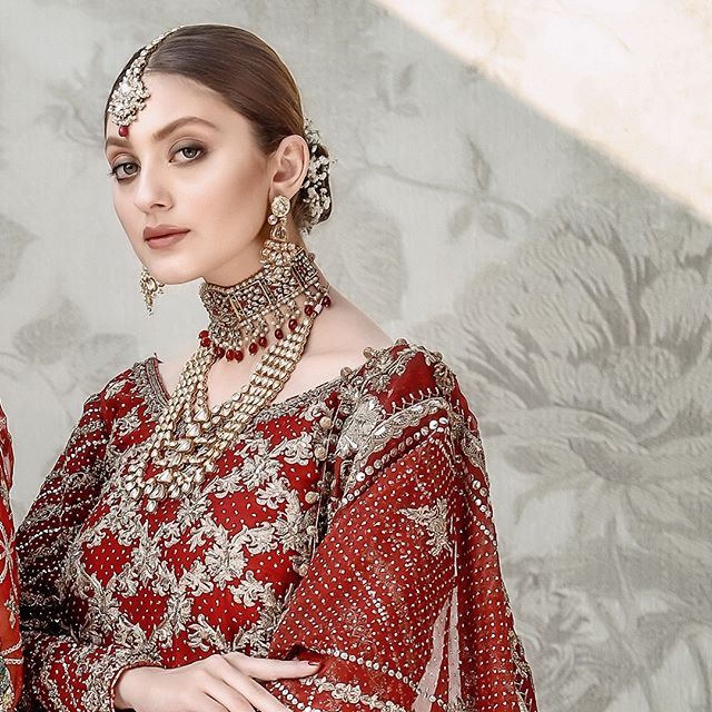 Neha Rajpoot Looks Undeniably Gorgeous In Bridal Outfits 6