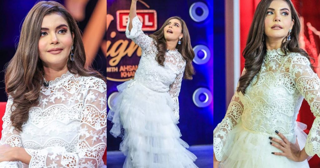 Nida Yasir's Stunning Pictures From Bol Nights With Ahsan Khan