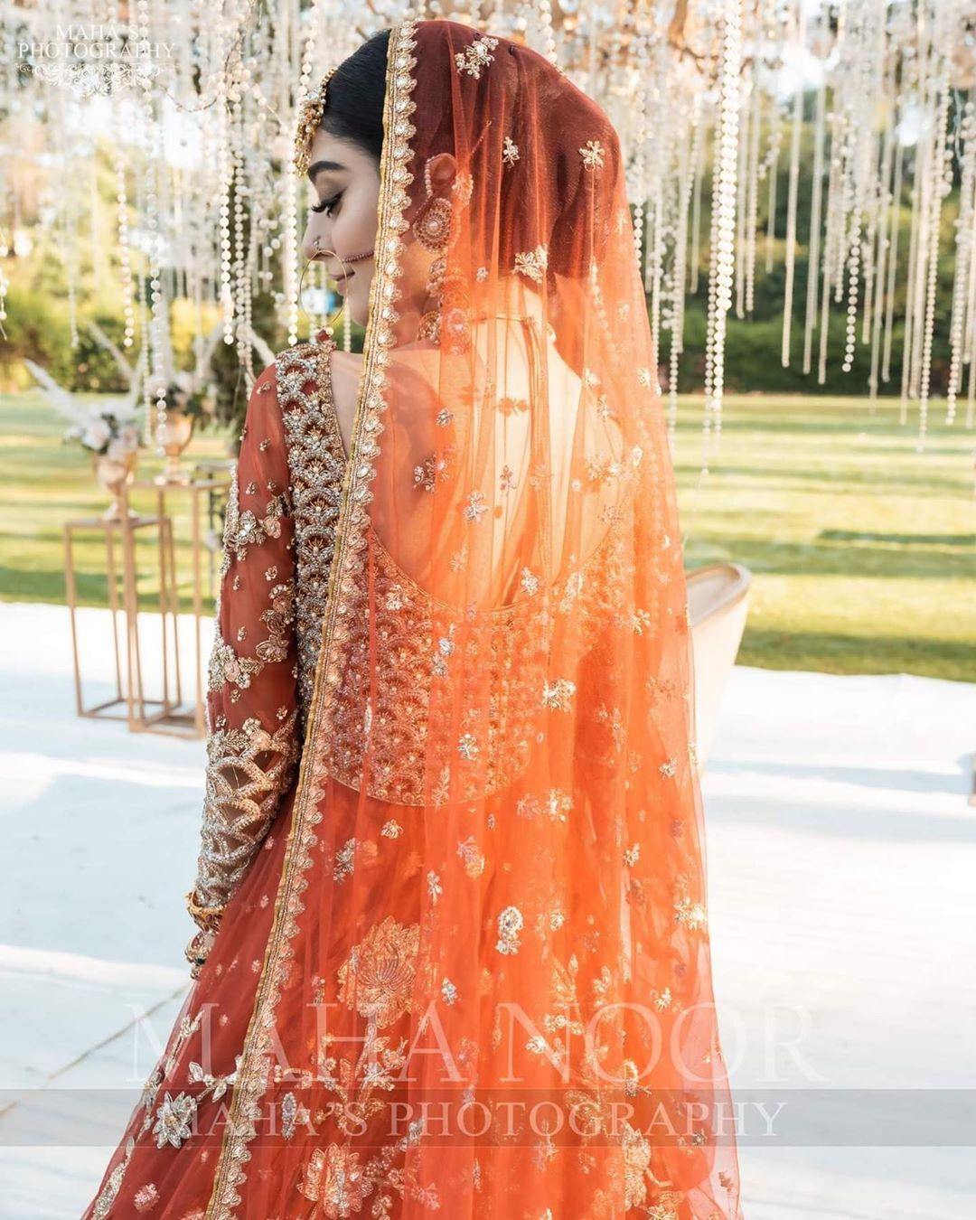 Gorgeous Noor Khan Latest Bridal Photo Shoot