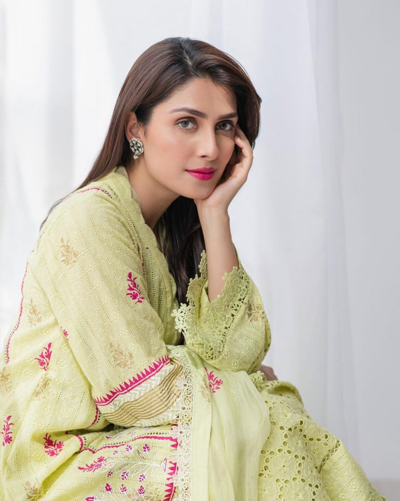 Old Clip Of Ayeza Khan From Her First Drama Serial 8