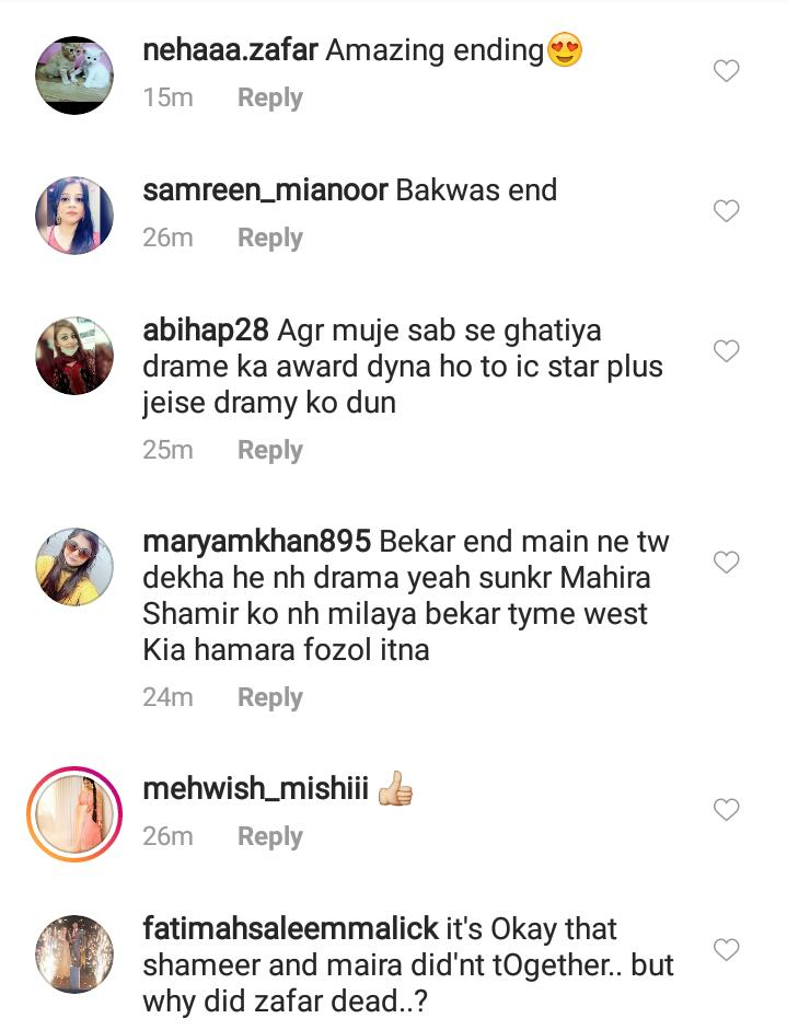 Public Reaction On Last Episode Of Mera Dil Mera Dushman 4