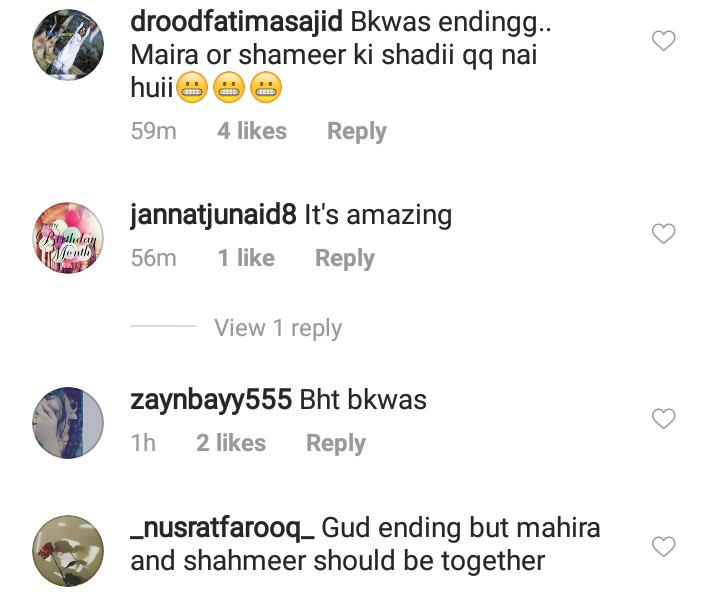 Public Reaction On Last Episode Of Mera Dil Mera Dushman 8