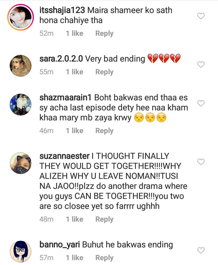 Public Reaction On Last Episode Of Mera Dil Mera Dushman 9