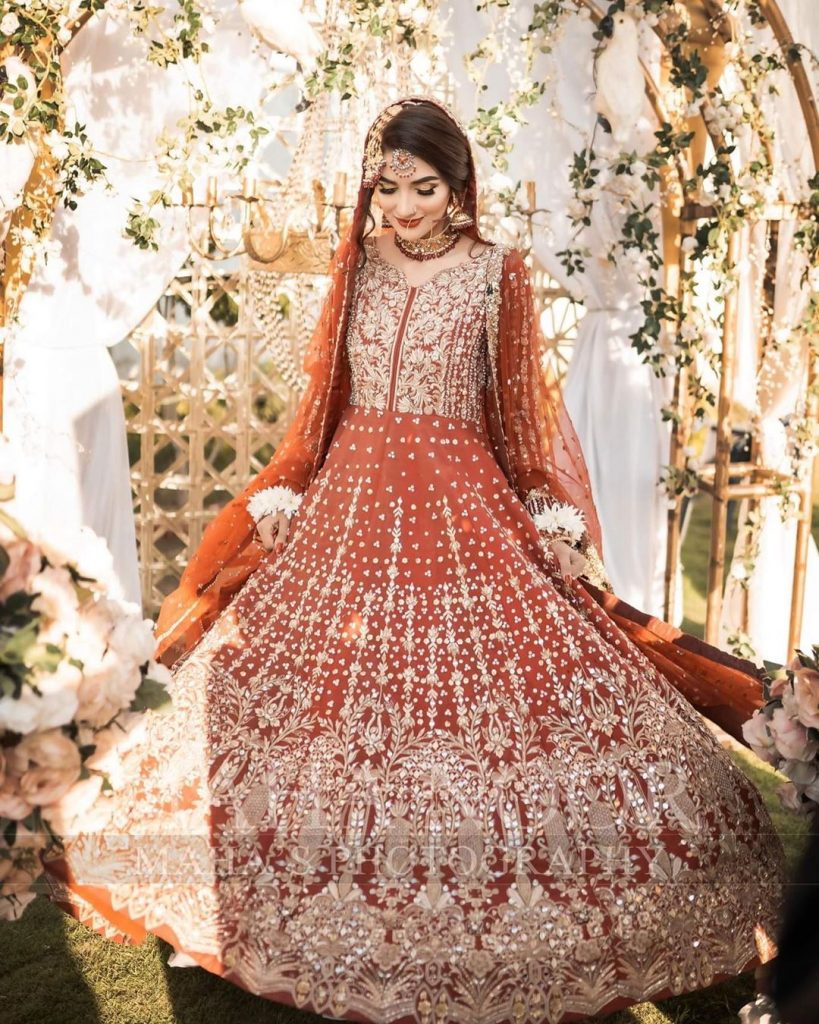 Rabab Hashim Giving Major Bride Outfit Goals In Latest Pictures