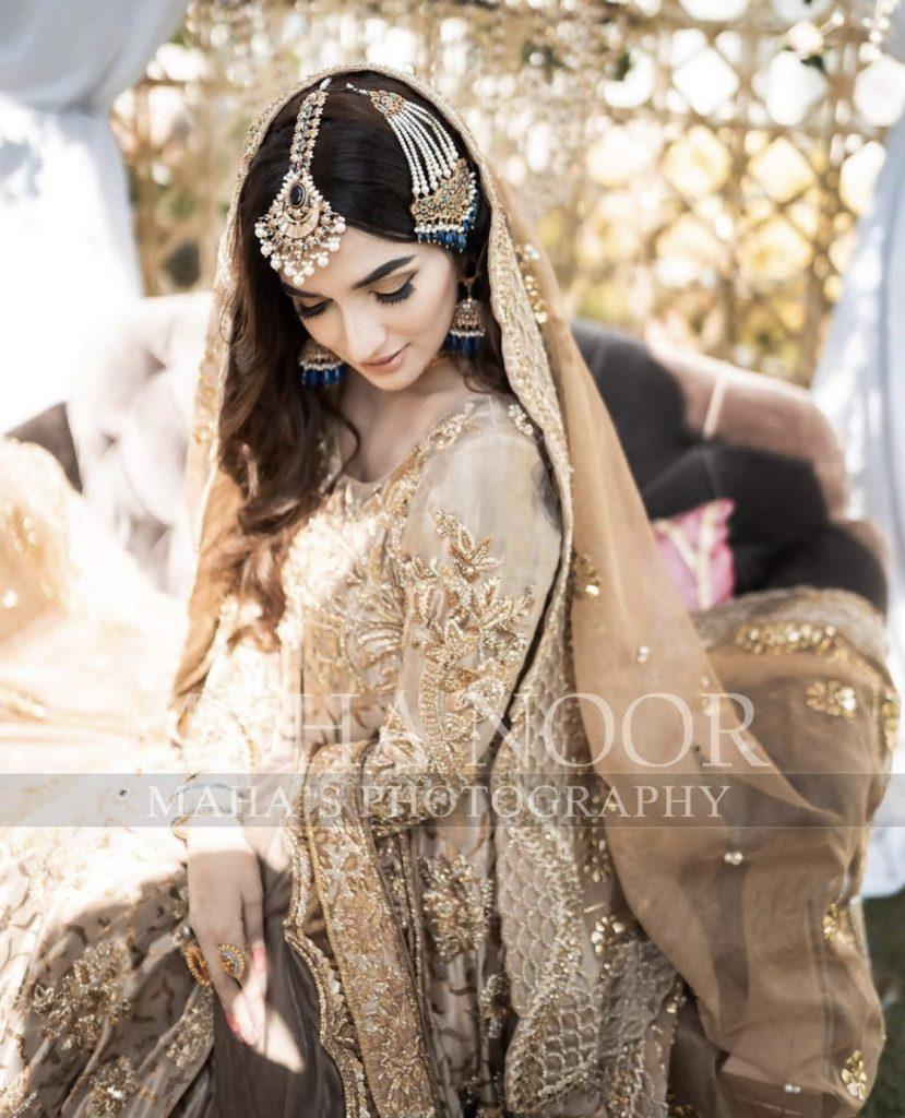 Latest Bridal Photoshoot Of Rabab Hashmi