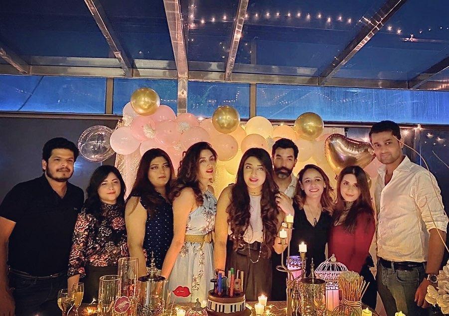 Iman Ali Sister Rahma Ali Birthday Party Pictures