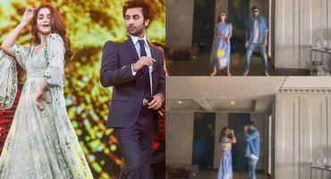 Ranbir Kapoor Alia Bhatts Fun Dance On Nazia Hassans Song 48