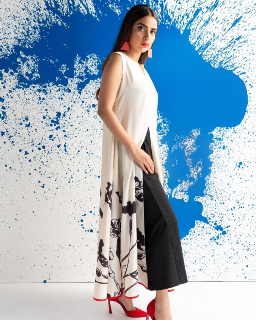 Saboor Aly Collaborated With Lulusar For Latest Versatile Outfits